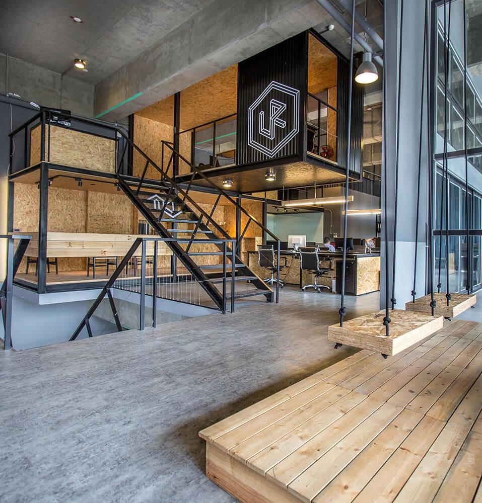 创意产业园loft风设计